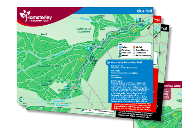 Hamsterley Forest – signs galore!