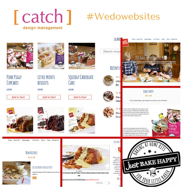 Catch Designs, Website, Stokesley, Sue Thompson, Business Park, Social Media