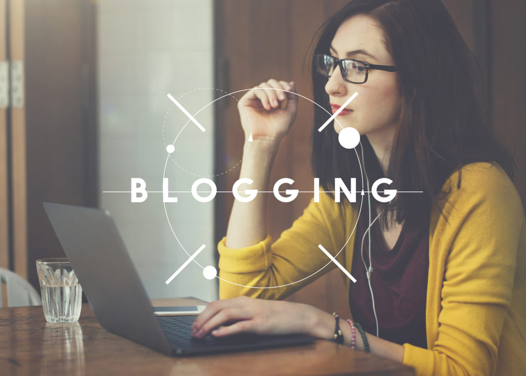 Is blogging part of your plan?