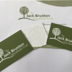 Jack Brunton, Stationery design, Stokesley, Catch Designs