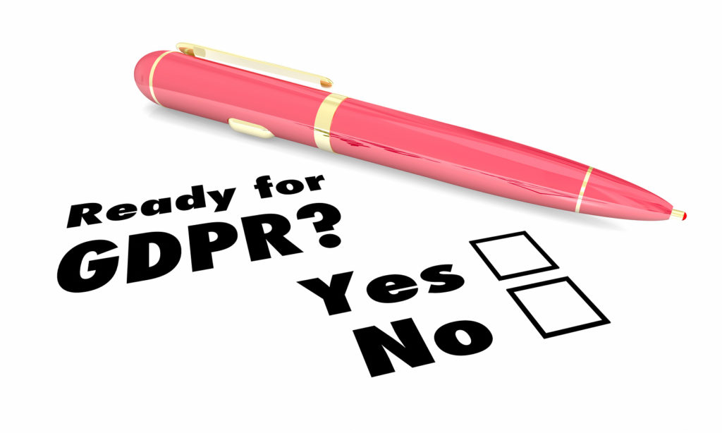 GDPR – ready or not, it's coming!