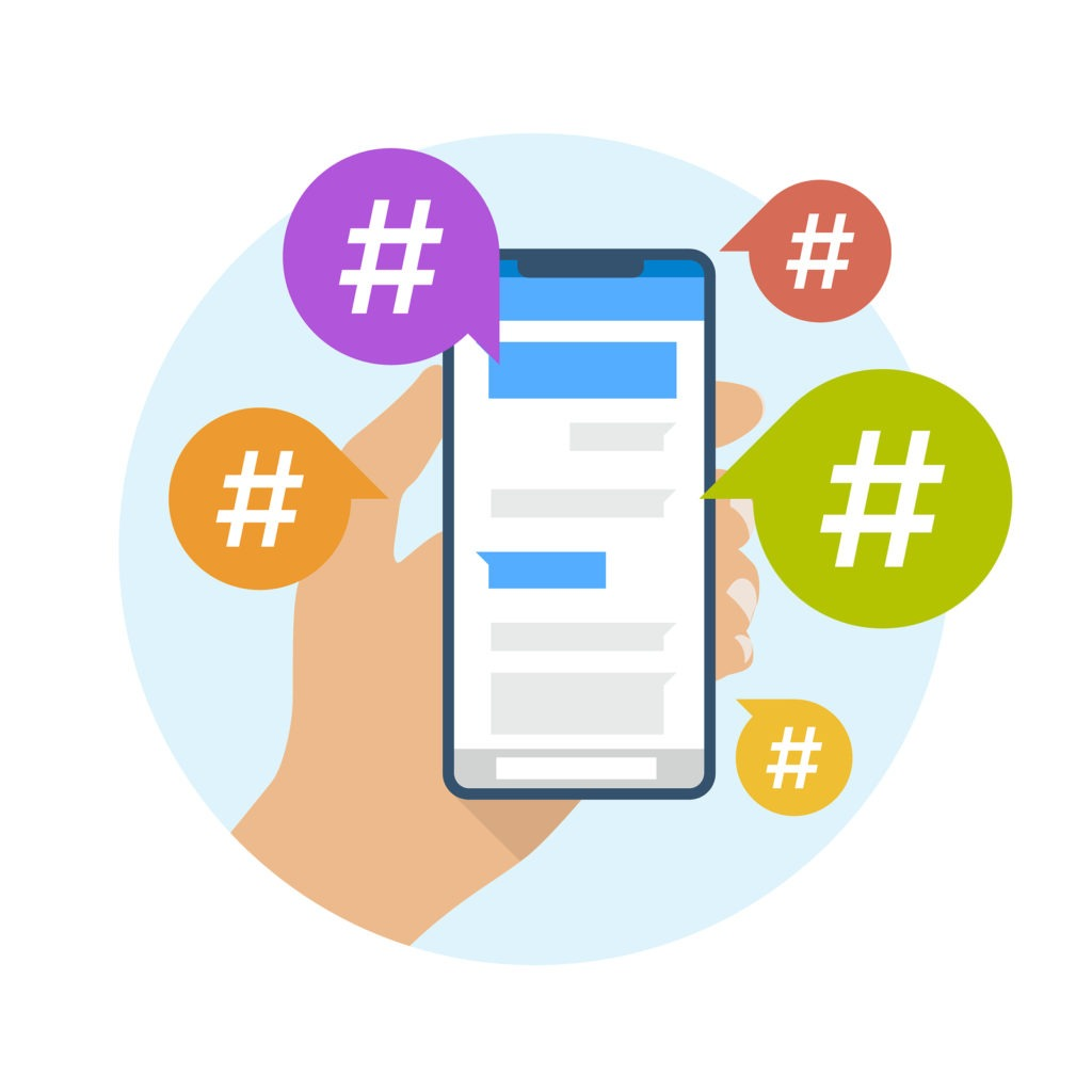 Hashtags, social Media, Stokesley, North Yorkshire, Small Business