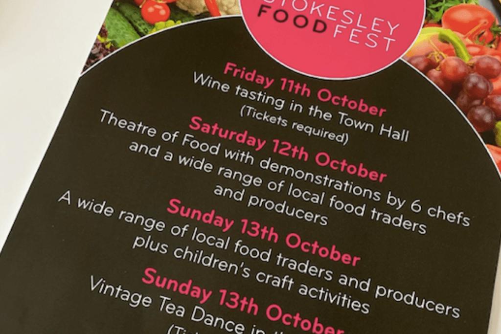Stokesley Foodfest, Graphic Design, Branding