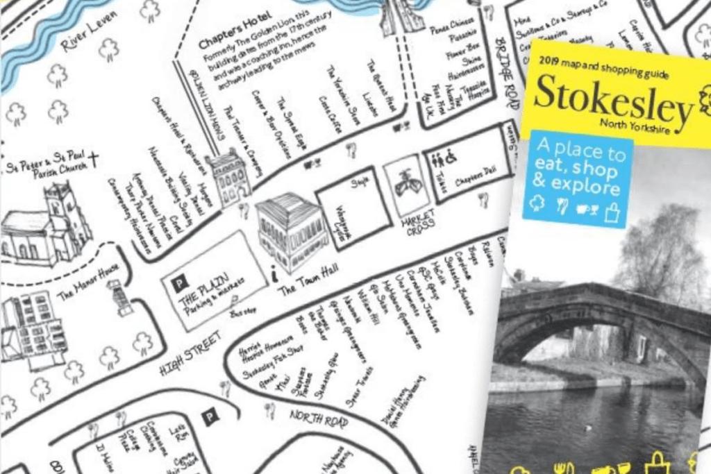 map development, Stokesley, Illustrations