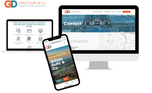 Website design for Gillian Duffy