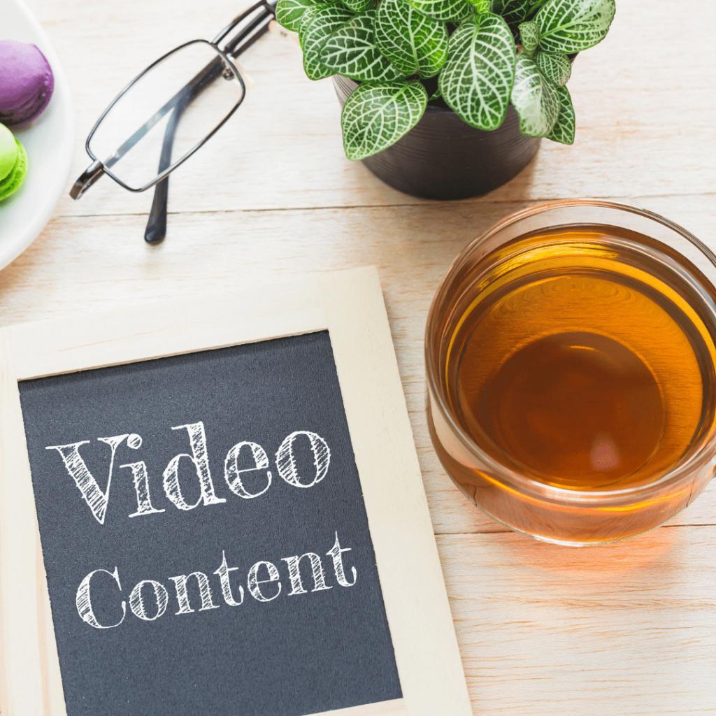 video content blog for instagram